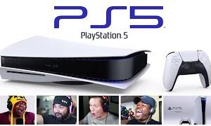 Reactors Reaction To Seeing The PlayStation 5 For The First Time   PS5 Hardware Reveal Reactions
