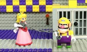 ピーチ姫がワリオに捕まった!【レゴでコマ撮り】