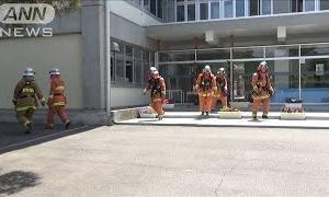 消毒液を再利用しようと・・・中学校の理科室で火事(20/06/23)