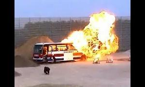 【西部警察SPECIAL(2004)】バス爆破・メイキング
