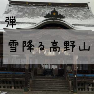 雪降る高野山〜前編〜
