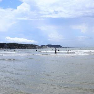少しだけ夏の気分に*鎌倉由比ヶ浜海岸