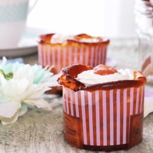 紅玉りんごジャムのバスクチーズケーキレシピ