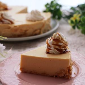 一度に美味しい♡プリンチーズケーキレシピ