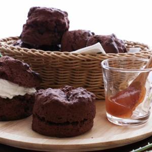 ビニール袋で作る♡濃厚チョコスコーンレシピ