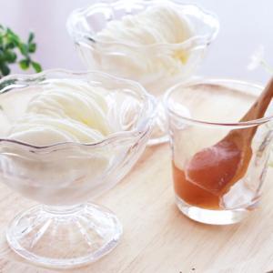 バニラヨーグルトソフトソフトクリームレシピ