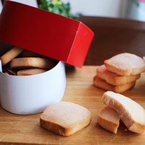 サクホロっ♡いちごの焼きチョコクッキーレシピ