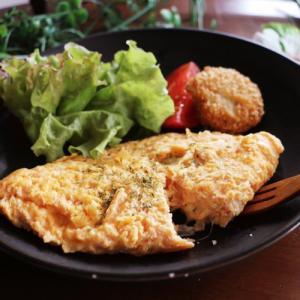 卵✖︎明太子のチーズオムレツレシピ