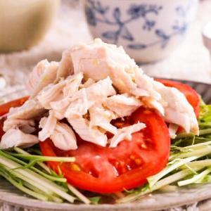 レンジで簡単♡鶏のささみで作る棒棒鶏レシピ