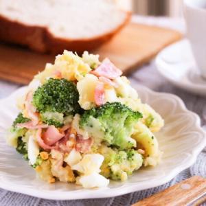 ブロッコリーとベーコンのポテトサラダレシピ