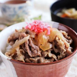 つゆだく~♡しみる美味しさ♪我が家の牛丼レシピ