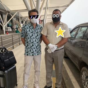 インドデリーの空港での物語