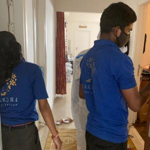 インドの自宅を除菌したらオマケ