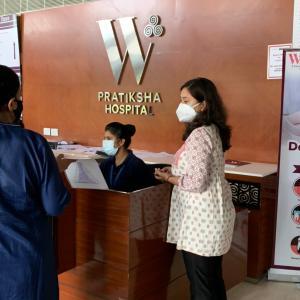 インドでワクチン2回接種