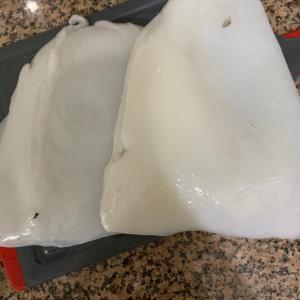 インドで買える魚介類が増えてきた