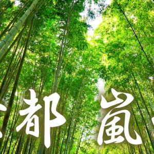 竹林と渡月橋の嵐山。京都ひとり旅#7。