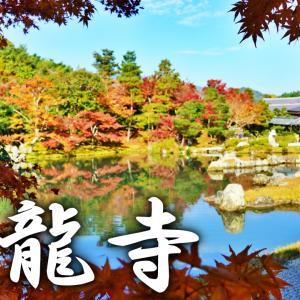 日本庭園で有名な世界遺産、「天龍寺」は朝10時までがベスト!京都ひとり旅#9