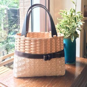 超可愛い♪リボン付きかごバッグが簡単に作れるレッスン