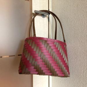 網代編みのオリジナルバッグにチャレンジ