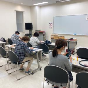 NHK文化センターのかごバッグ講座、開講レポ