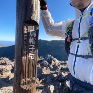 信州・烏帽子岳バーティカルキロメーター往復再チャレンジ