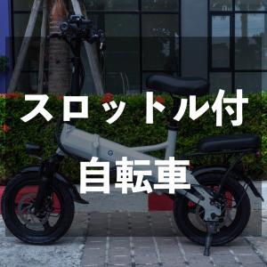 電動アシストどころかスロットル付の自転車買ってみた【G-Force】