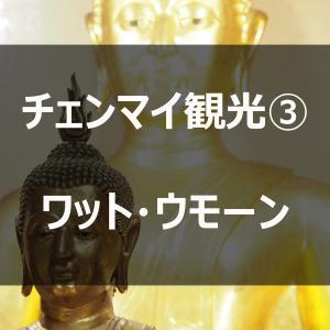 チェンマイ旅行記③ワット・ウモーン寺院