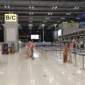 【一時帰国】スワンナプーム国際空港の様子