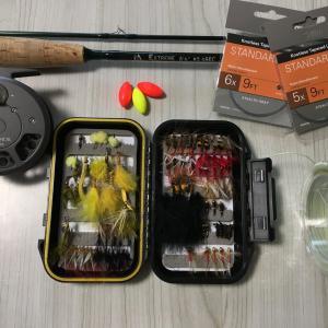管理釣り場でお手軽・簡単フライフィッシング!!  タックルセッティング編。