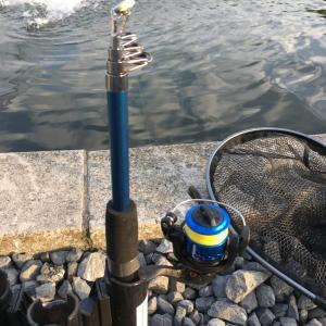 ダイソー釣り竿で朝霞ガーデンに挑戦!自分を信じていざ出陣。そして、意外な結果に・・・。