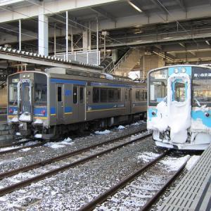 五 青森駅と青い森鉄道乗車記