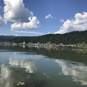 7 中央本線の旅 諏訪湖・甲府城跡