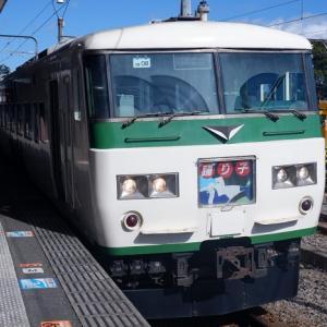9 特急踊り子号185系・伊豆熱川