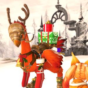 【FF14】クリスマスチョコボ装甲スターライト・バード買ったよ!【モグステ】