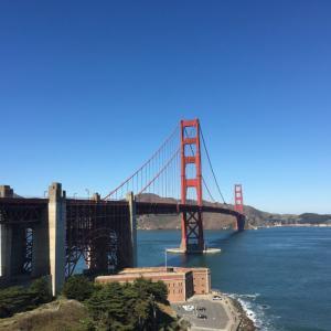 サンフランシスコといえばここ!! 世界で最も写真を撮られた橋 ゴールデン・ゲート・ブリッジ