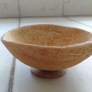 クアラルンプール*ヤシの実(ココナッツ)で小物入れ(器)を作ってみました