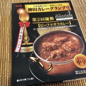 【ビーフカレーなのにインド風 !?】マンダラの「ビーフマサラカレー」を食べてみたぞい
