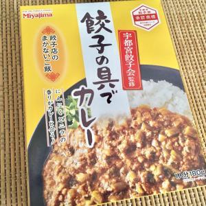 【一枚上手の餃子感!】宮島醤油のレトルト「餃子の具でカレー」食べてたらたまらずワイはワロけてしまった