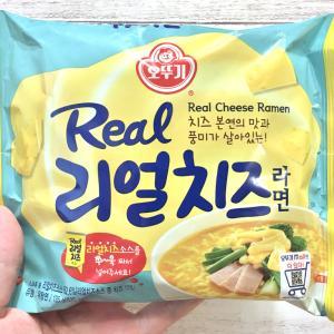 【525kcal】韓国のチーズソース付きインスタント麺・オットギ「リアルチーズラーメン」食べてみた