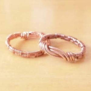超簡単!ワイヤーを編んで指輪を作ってみよう