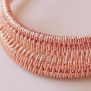 【ワイヤーの編み方講座#8】 はしごバスケット編み