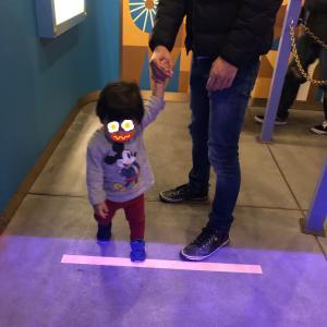 1歳半の息子とディズニーランドその2