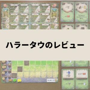 ハラータウのレビュー:カードコンボ×ワーカープレイスメント好きにおすすめ!