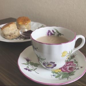 キーマン紅茶とスコーンのベストマッチ👍