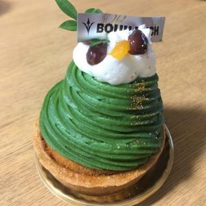 ブールミッシュ 季節限定ケーキは「抹茶のモンブラン」つぶあんとアンズゼリーが決め手!