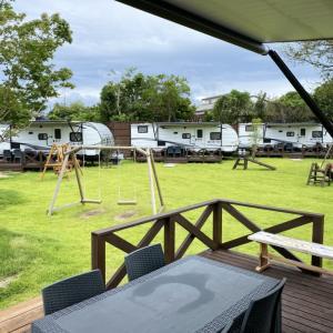 「手軽なキャンプ」フランピングヴィレッジ大牟田へ行ってきました【家族旅行】