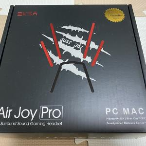 [Air Joy Pro]レビュー/7.1chサラウンド対応の軽量&コスパ最強ヘッドセット