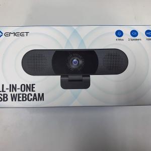 [eMeet C980pro]レビュー/マイクとスピーカが一緒になった最強のWebカメラ!