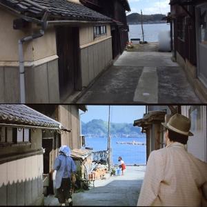 男はつらいよロケ地巡り 第29作『男はつらいよあじさいの恋』 伊根町舟屋