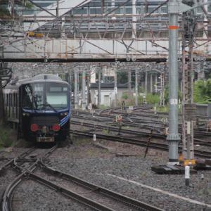 早朝甲種輸送 相模鉄道20000系 京都駅にて
